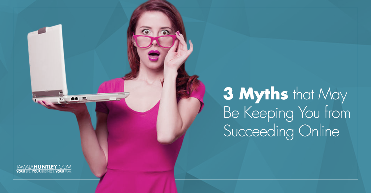 3 Myths That May Be Keeping You from Succeeding Online - So is it really possible for you to grow a profitable business online? Of course it is! And in this fairly long (but GOOD) article I'm gonna tell you why and how... In most cases, the reason we are not as successful as we want to be is because of our mindset… it's because of what we think about ourselves and what we can accomplish.
